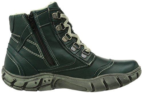 Manitu 990759 - Botas de cuero para mujer verde - Grün (grün)