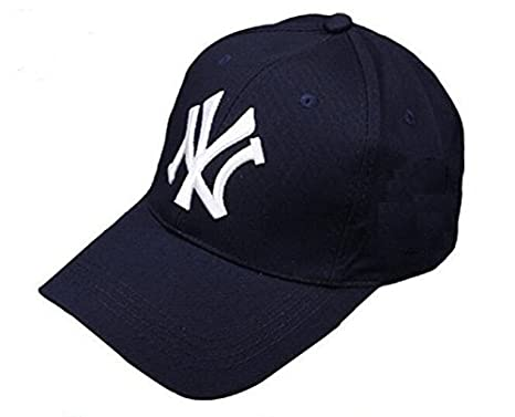 bcbfa2c0a29 Buy Handcuffs Stylish Cotton Adjustable Baseball Cap (Blue) Online at Low  Prices in India - Amazon.in