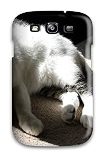 High Quality Lazy Cat Case For Galaxy S3 / Perfect Case