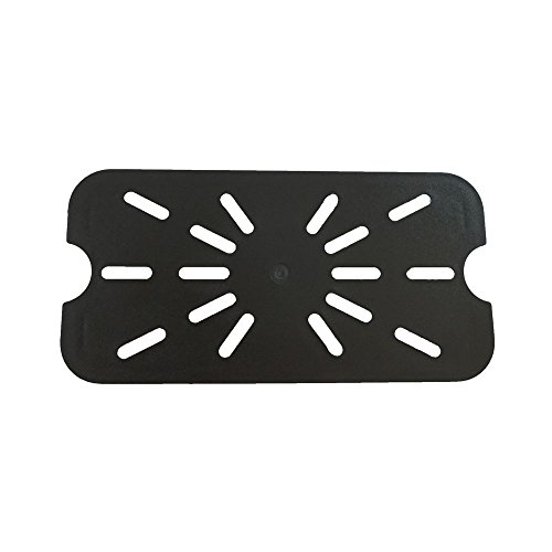 GN 1/4, Drain Shelf, Black, for Polycarbonate Gastronorm Container