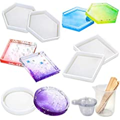 Size:  Round Mold: External Dimension: 3.5in Inner Dimension: 2.7inSquare Molds:  External dimensions: 4.3inInner dimension: 3.5in Hexagon Molds:  External dimensions: 4.9inInner dimension: 4.1in Manual measurement, for reference onlyWarm Tip...