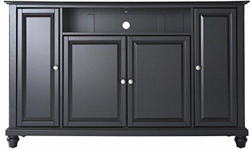 Crosley Furniture Cambridge 60-inch TV Stand - Black - Rubbed Black Tv