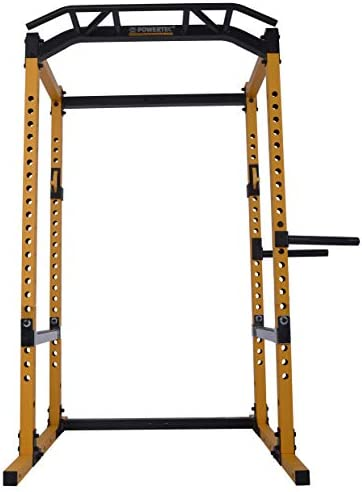 Powertec Fitness Power Rack, Yellow