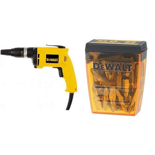 (DEWALT DW255 6 Amp Drywall Screw Gun with DEWALT DW2002B25 #2 Phillips Bit Tip (25-Pack))