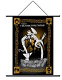 "Neca Nightmare Before Christmas ""Jack and Fountain"" Wall Scroll"