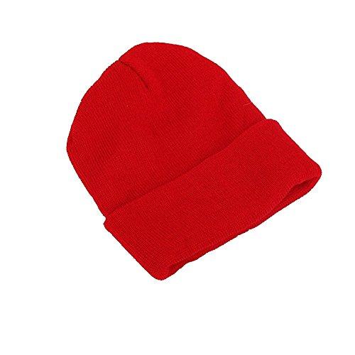 Color De Pareja De S Lana Sombrero Cálido Gorro Lana Otoño ZGMZHNXC Moda Sólido Cálido Sombrero C De Hombre Punto 5q75YwF
