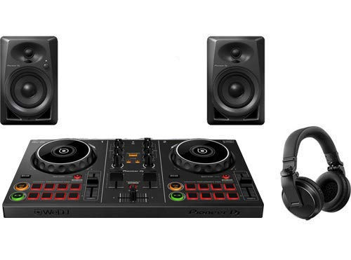Sale!! Pioneer Pro DJ Bundle with DDJ-200 + DM-40 Set + HDJ-X5 Headphones