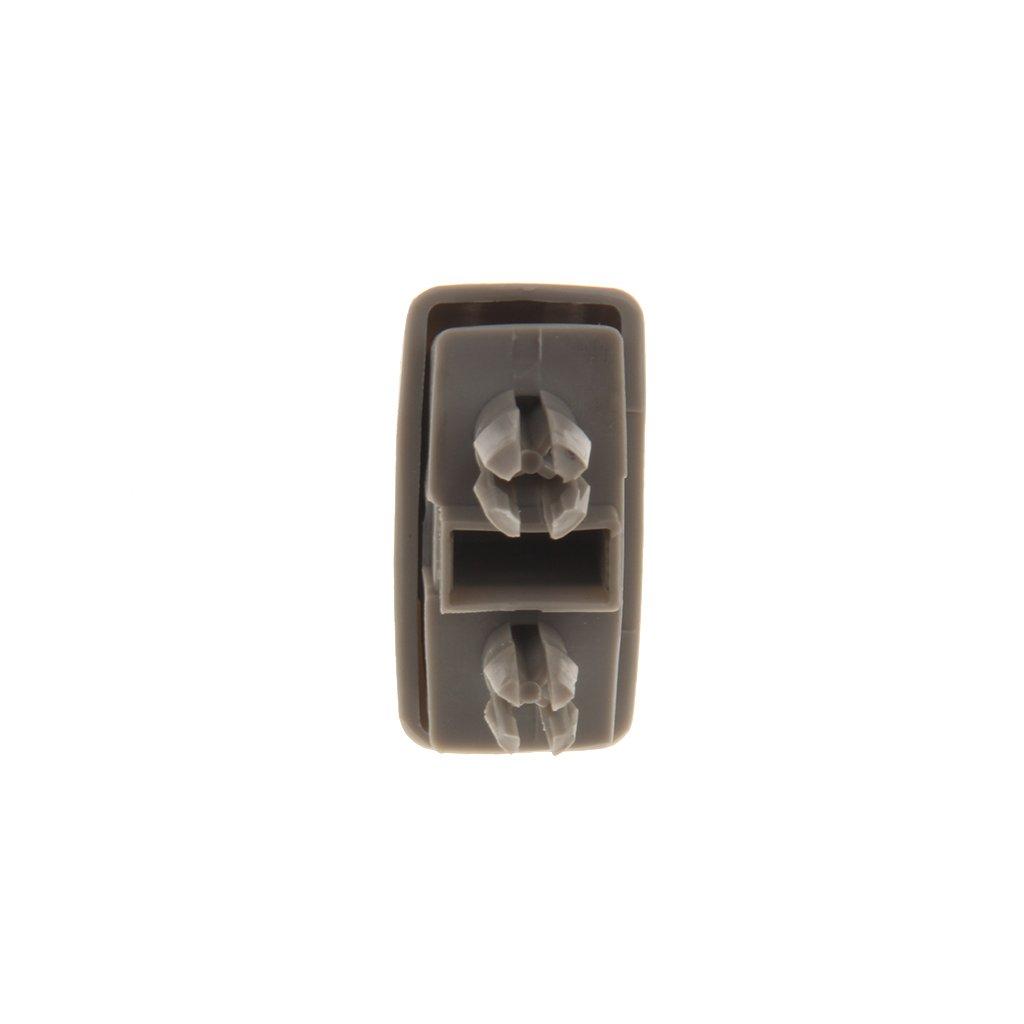 Sharplace 2X Grau Innensonnenblende Hakenklemme Haken-Klipp-Halter Clip F/ür Audi A1 A3 A4 A5 Q3 Q5