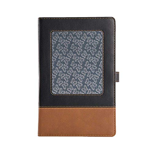 DIY Series Notebooks Butterfly Rich Patterns and Various Styles Leather Notebook A5, 8.6 6.1 Inches