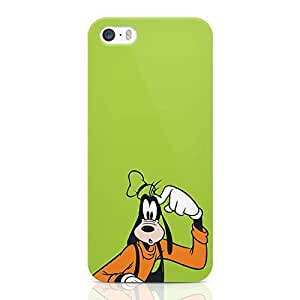 Loud Universe Curious Goofy Dog Iphone 5 / 5s Case Funny Gooofy Dog Iphone 5 / 5s Cover with 3d Wrap around Edges