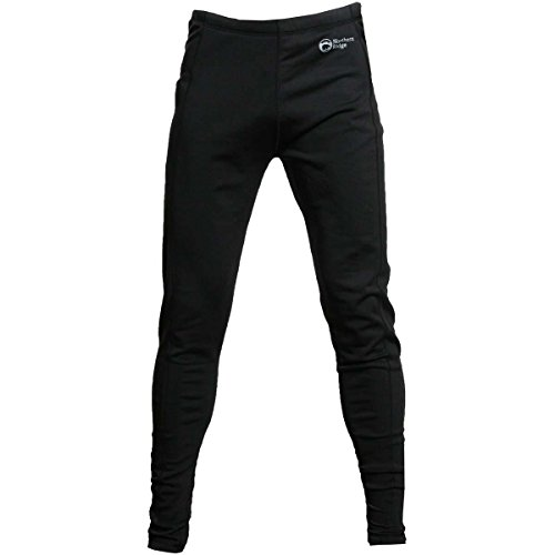 Northern Ridge Mens Polar Stretch Fleece Pants (Black / Medium)