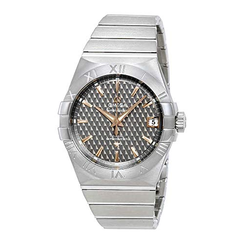 Omega Constellation Automatic Grey Dial Watch 123.10.38.21.06.002