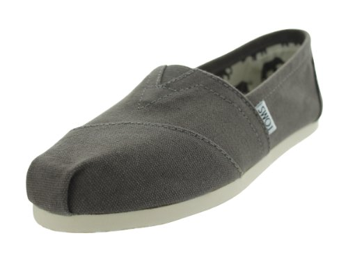TOMS Womens Classic Canvas Slip-OnAsh8 M US