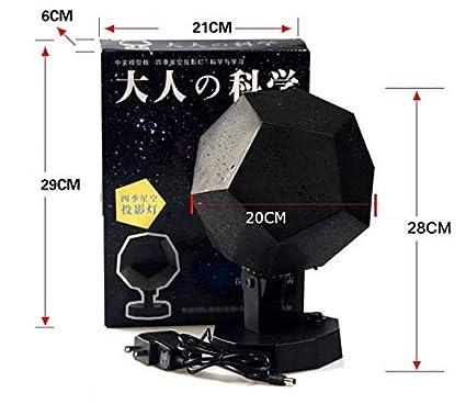 Night Light Cosmos Star Projector, LED Projector Night Light ...