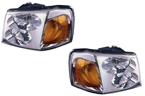 04 gmc envoy headlight assembly - 3