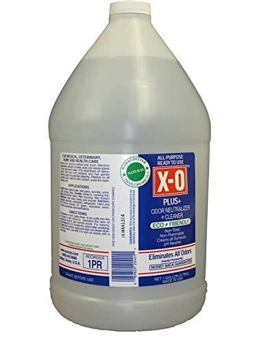 XO Plus Odor Neutralizer/Cleaner Ready-to-Use (8oz, 16oz, 1gallon, 5gallons) - All-Natural Deodorizer, 1-Gallon