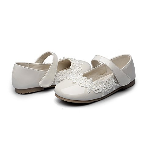 6ded5b45f71fd Chiximaxu Maxu Toddler Girl Marry Jane Flat Shoes Easy Strap ...