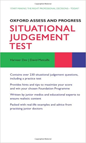 Situational Judgement Test (Oxford Assess and Progress ...