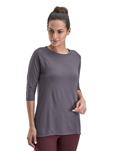(Proyog Women'S Yoga Tunic Medium Forged Iron)
