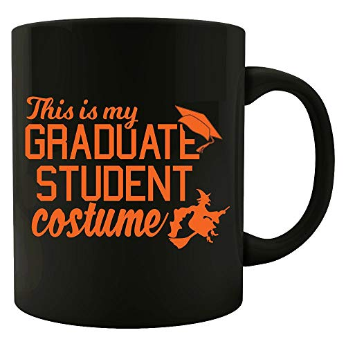 Funny Grad Student Costume For College Students Funny Halloween Design - Colored Mug ()