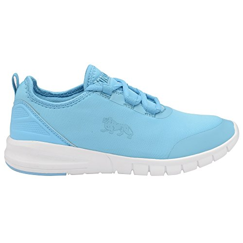 Zambia Lonsdale White Up Womens Lace Ladies Sneakers Zambia Womens Sneakers Up Blue Lace Lonsdale Ladies zYF6w