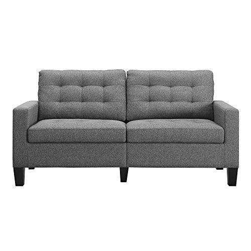 Dorel Living Bowie Sofa, Gray