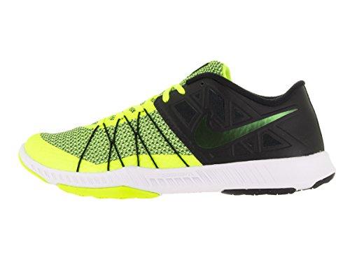 Nike Mens Treno Incredibilmente Veloce Scarpe Da Allenamento Alla Caviglia Nero / Volt / Bianco