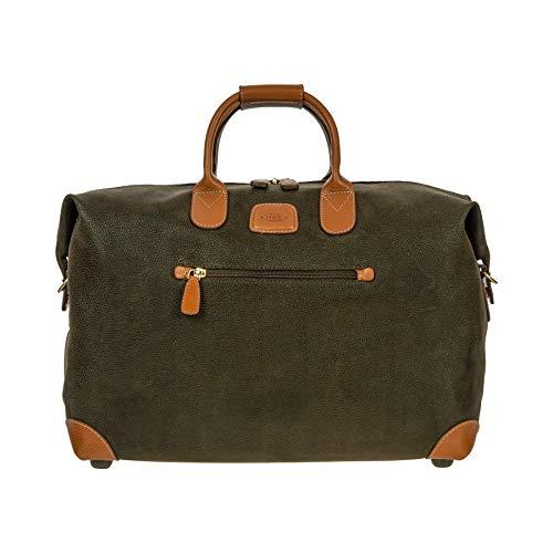 (Bric's Luggage Life 18 Inch Cargo Duffle, Olive, One Size)