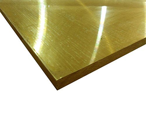 Online Metal Supply C464 Brass Plate 3/8'' x 12'' x 12'' by Online Metal Supply