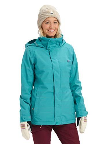 Burton Women's Jet Set Jacket, Green-Blue Space Dye, XX-Large