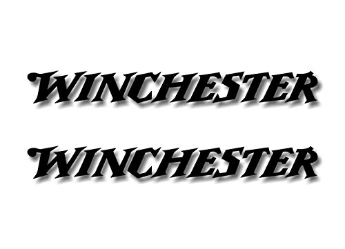 (2 Winchester Black Vinyl Sticker 9