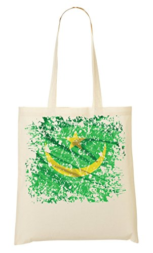 Fourre Nice à provisions To Series Flag Sac Mauritania Africa Nationality Country tout Nouakchott Sac ygq7FSwzY