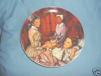 Knowles Gone with The Wind: Melanie Gives Birth Collector Plate (Gone With The Wind Collector Plates Knowles)