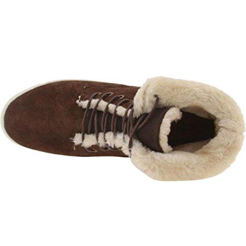 Pekaren Womens Hannah Mode Sneakers Ingefära Grädde I014386gg821f