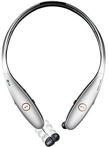 LG Tone Infinim HBS-900 Wireless Stereo Headset Headphones, Silver (Certified Refurbished)