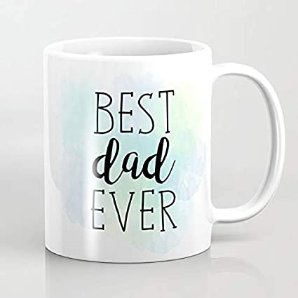 N\A La Mejor Taza de café de papá Nunca 2020.