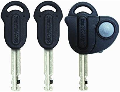 Kryptonite Evolution Mini-7 Bicycle U-Lock w 4 KryptoFlex Double Loop Cable