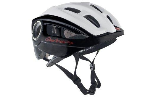 Urge Bike Products Supacross Helmet, Black/White, Small/Medium
