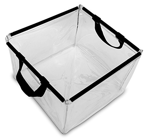 2-Pack-Clear-Wash-and-Rinse-Camping-Wash-Basin-Collapsible-Water-Bucket-317-Gallon-Capacity