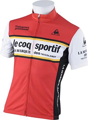 代理店抵抗力がある専門化する(ルコックスポルティフ) le coq sportif サイクリング 半袖シャツ QC-741161 [メンズ]