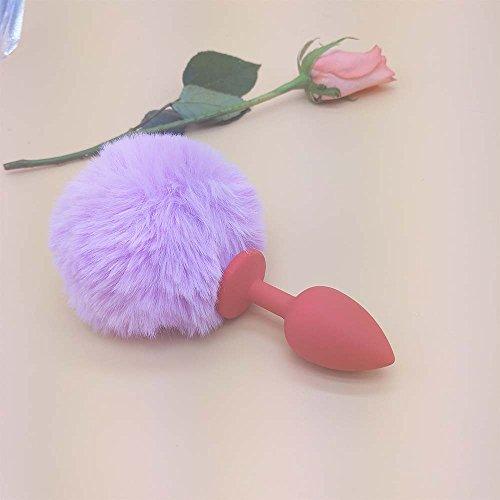 Queue Dildo Silicone Vibromasseurs Sex Et Périnée Anal Purple Plug Balles Panpany Toys Lapin Du OqxYn6wI4p