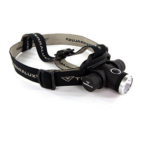 TerraLUX Aluminum 700 Lumen Led Light Headlamp Flashlight Headlamp Light - Black by TerraLUX