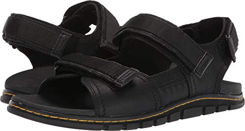 Dr. Martens Athens Sandal, Black 9 Medium UK (10 US) ()
