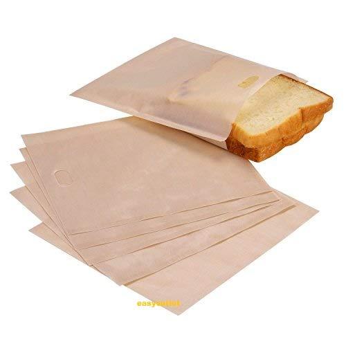 Easyoutlet*Toaster Bags (Pack de 6) | Perfecto para sándwich ...