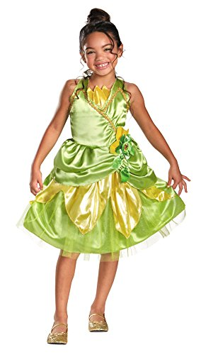 [Unisex-Baby - Tiana Sparkle Toddler Costume Classic 3T-4T Halloween] (Tiana Costume For Infant)