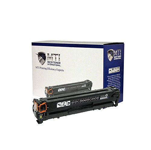 MTI MICR HP CE410A (305A) MICR Toner Cartridge (Yield: 2 - 200) for check printing compatible with HP LaserJet Pro 300 & 400 Series Printers: M351 - M375NW - M451DN - M451DW - M475DN - M475DW