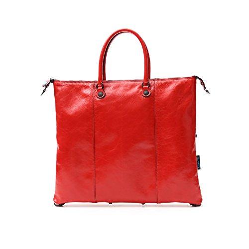 lucida Gabs trasformabile G3 in M pelle Shopping rossa Bora xUHqZUw7