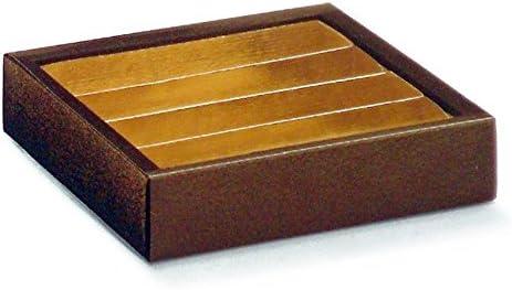 Garcia de Pou 50 Unidad Bombones con Separador y Tapa en Caja, cartón, marrón, 14,5 x 14,5 x 3,5 cm: Amazon.es: Hogar