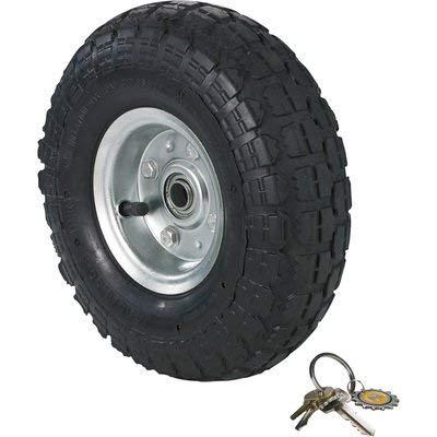 Ironton 10in. Knobby Pneumatic Tire ()