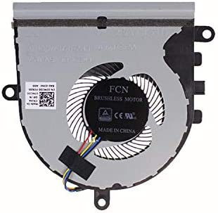 HK-Part Fan Replacement for Dell Inspiron 5570 15-5570 P75F Series CPU Cooling Fan DP//N 07MCD0 CN-07MCD0 7MCD0 4-Pin 4-Wire
